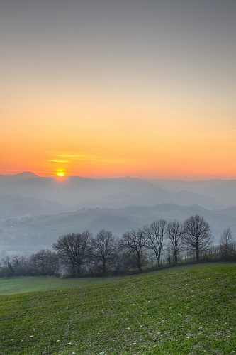 Sunset - Castellarano (RE) - December 30, 2012