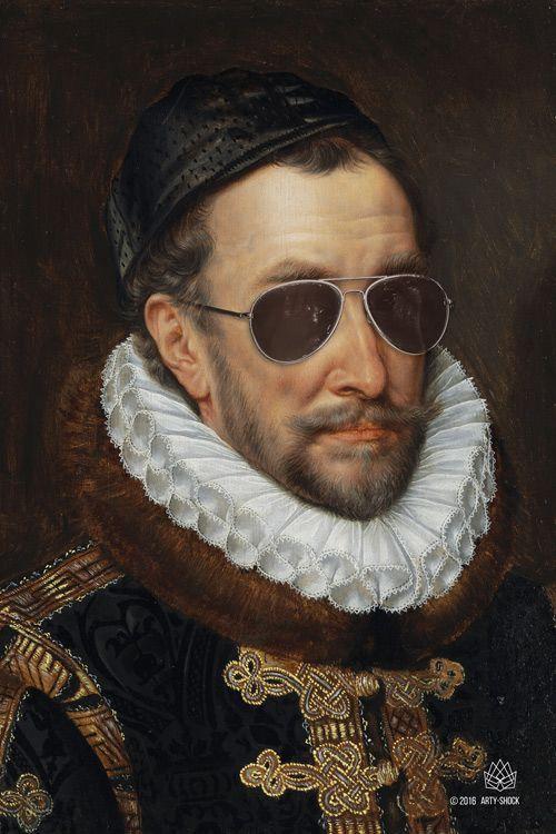 Arty-Shock is klassieke kunst met de grote K van Knipoog. Werken van oude meesters als Rubens en Vermeer zijn met originaliteit en humor in ...