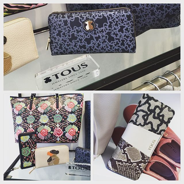 #johnandy #newarrivals #tous #bags #wallets for #woman #call_for_orders #00302109703888  https://www.john-andy.com/gr/brands/tous.html