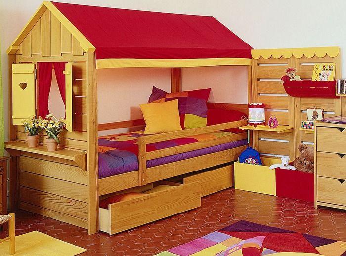 Mejores 137 imágenes de camas en Pinterest | Habitaciones para niños ...