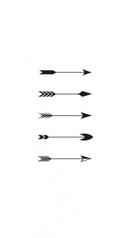 62 Super Ideas For Tattoo Arrow Finger Simple