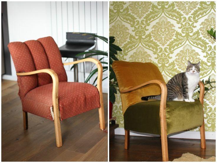 Mit einfachen Mitteln lassen sich alte Möbel aufpeppen. Immowelt.de zeigt verschiedene Ideen mit Möbelfolie, Stoffen und frischer Farbe.