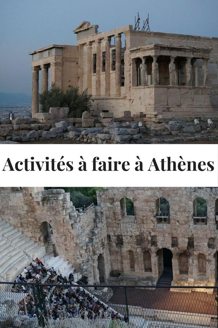activités à faire à Athènes Grèce - Que voir à Athènes - Grèce