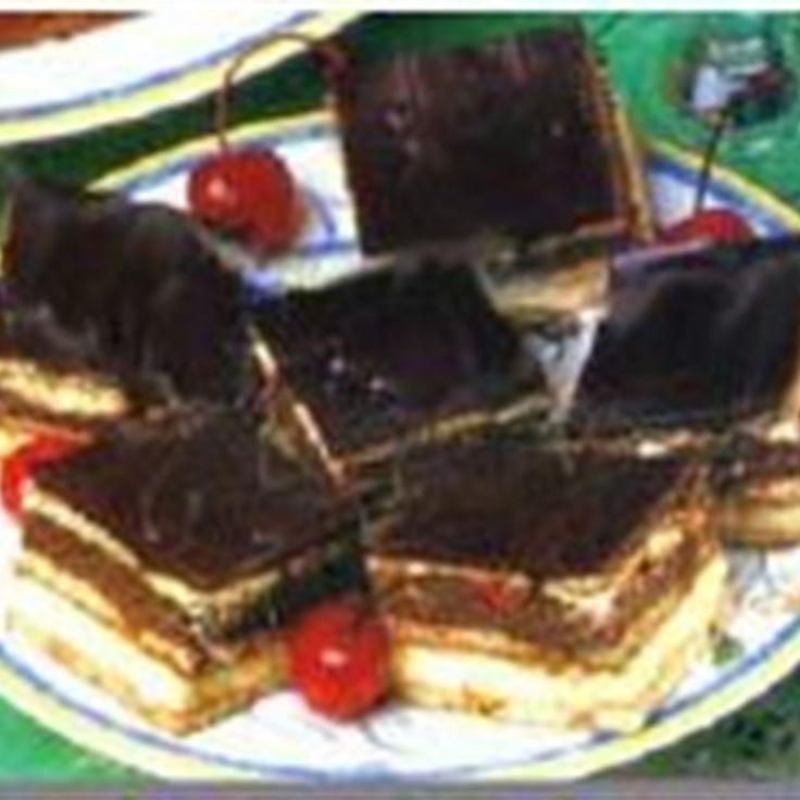 Try this Chocolate Vanilla Slice recipe by Chef Cheryl.