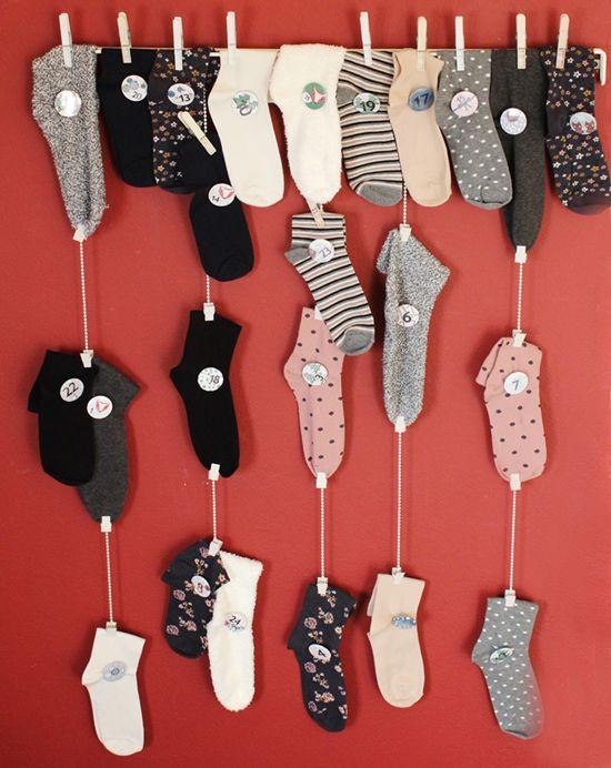 DIY Adventskalender II {i need socks!}