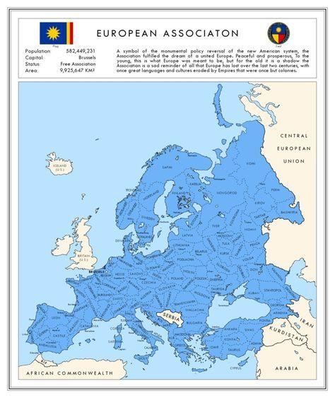 Alternative Map Of Europe.Europa 1989 Alternative Maps Pinterest European Map European