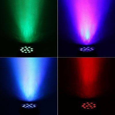 18W 12 LED Sound Activated Strobe Light AC110 - 220V
