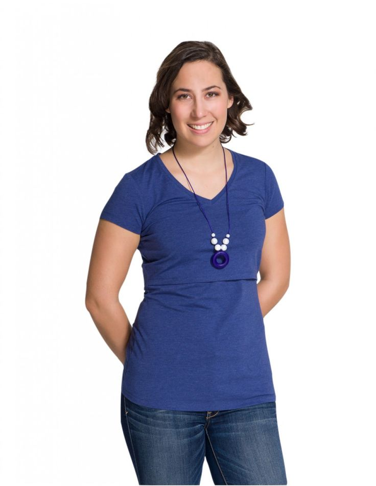 These nursing shirts has universal breast openings ensure discreet and comfortable breastfeeding experience.