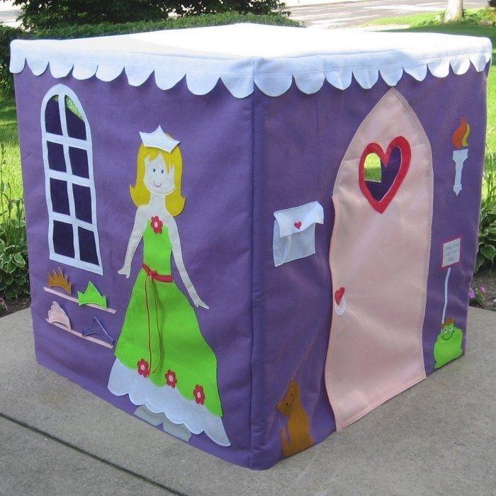 Как сделать домик для детей своими руками