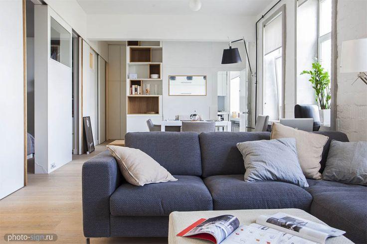 interior, design, decor, loft, living-room, sofa