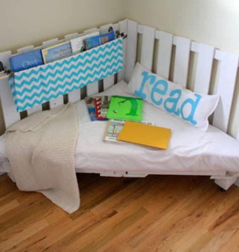 Corner reading nook - Find out more via homelysmart.com