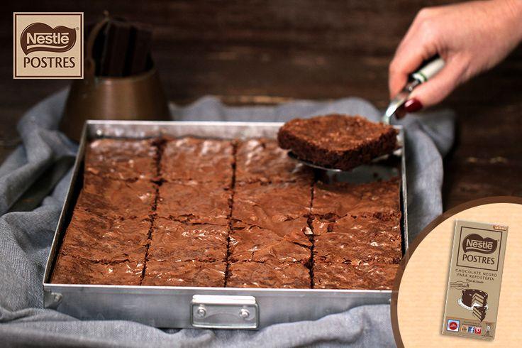 Brownie de chocolate negro