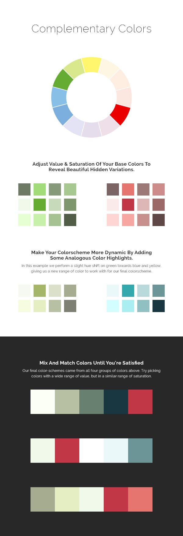 Color harmony online - Excellent Color Tutorial For Web Design Four Quick Tips For Improving Color Harmony In