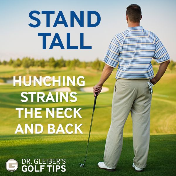 Dr. Gleiber's spine health tips for golfers