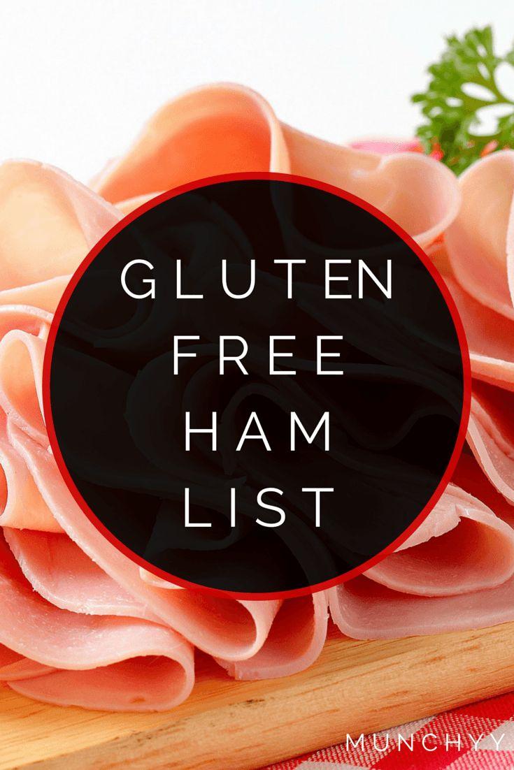 Gluten Free Ham Listing