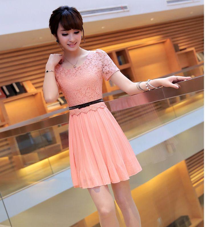 Váy voan pha ren, chất cực đẹp không rút sợi, thiết kế trẻ trung, màu sắc trang nhã, đủ sz, đủ 3 màu như hình - giá 490k