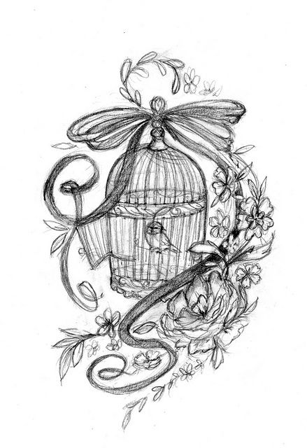 bird cage: Tattoo Ideas, Love Tattoo, Gorgeous Tattoo, Birds Tattoo, Birds Cages Tattoo Sleeve, Birds Cages Sleeve Tattoo, Art Creative Tattoo, Tattoo Design, Photo