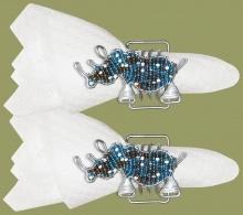 Beaded Serviette Rings
