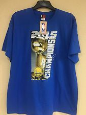 Golden State Warrior 2015 Champions Final T-shirt with Team Roster on the back