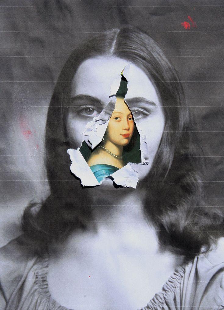 Collage SCHICHTEN 2013 Waldemar Strempler