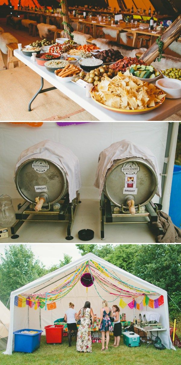 A Relaxed Festival Inspired Tipi Wedding