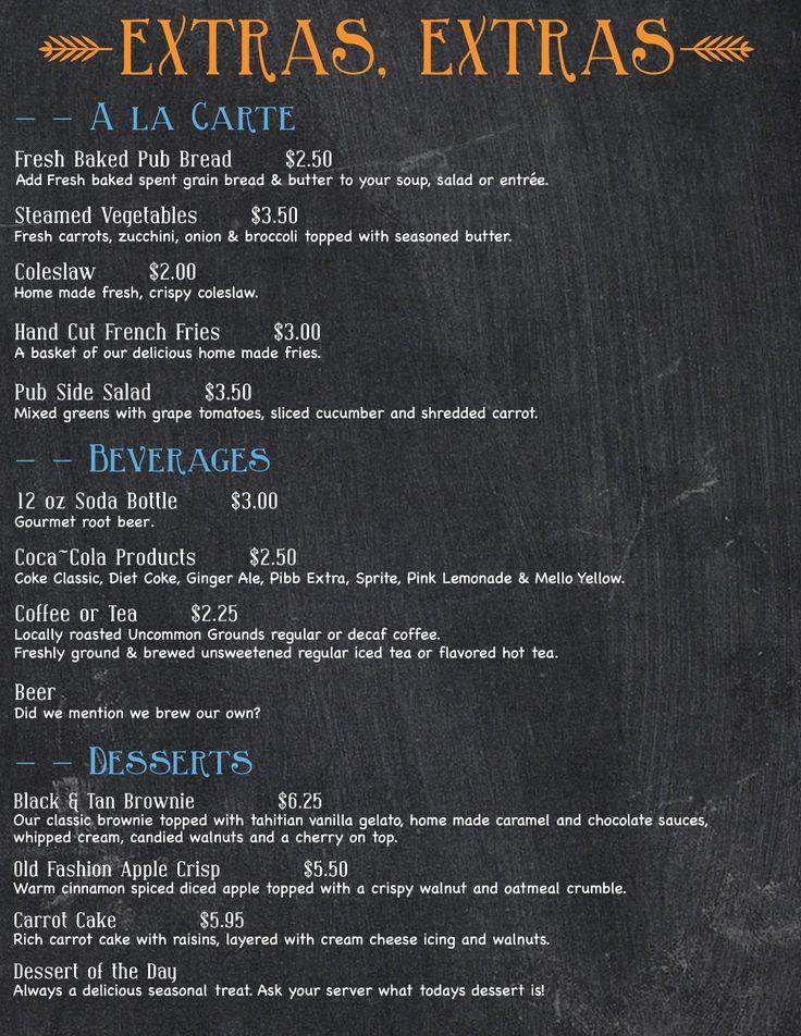 526 best Restaurant menu design images on Pinterest Craft, Diner - a la carte menu template