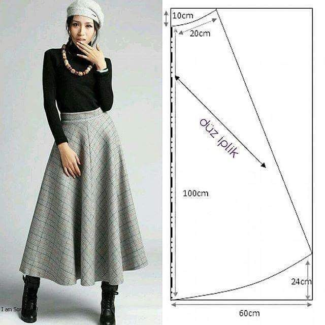 sewing stich skirt...<3 Deniz <3