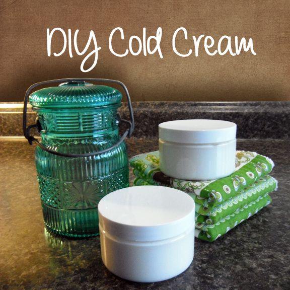 Paula Parrish: DIY Cold Cream Recipe. Makeup remover and moisturizer.