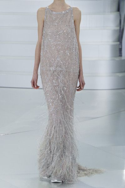 Chanel at Couture Spring 2014-do similar to dress in many Fair Lady I have always dreamed of