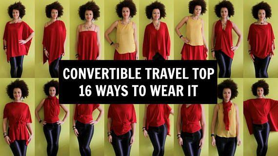 Op maat gemaakte reizen Top 16 manieren om het te dragen