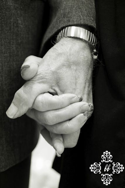 50 years together, my parent's hands.