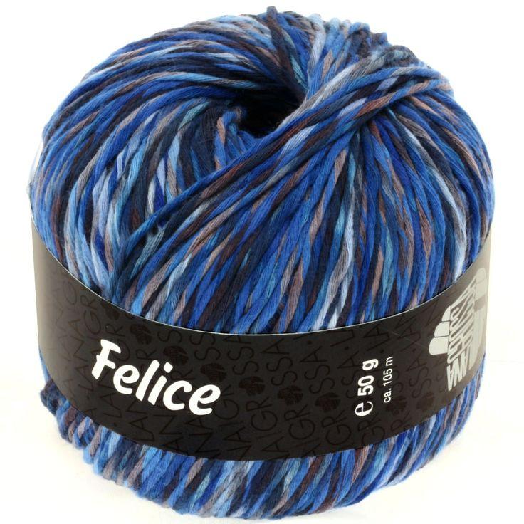 FELICE 03-marine / blue / lightblue / taupe
