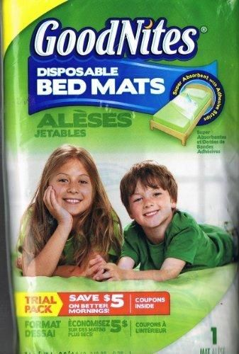 GoodNites Disposable Bed Mat Trial Pack