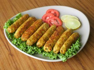 The simplest Chicken Cheese Seekh Kebab Recipe for you. #HappyCookingToYou