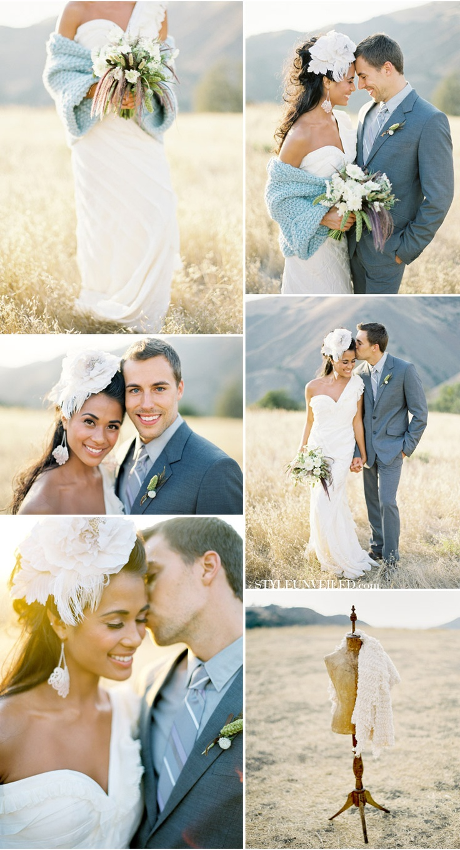 Cozy Wedding Inspiration: LOVE this couple's wedding ideas