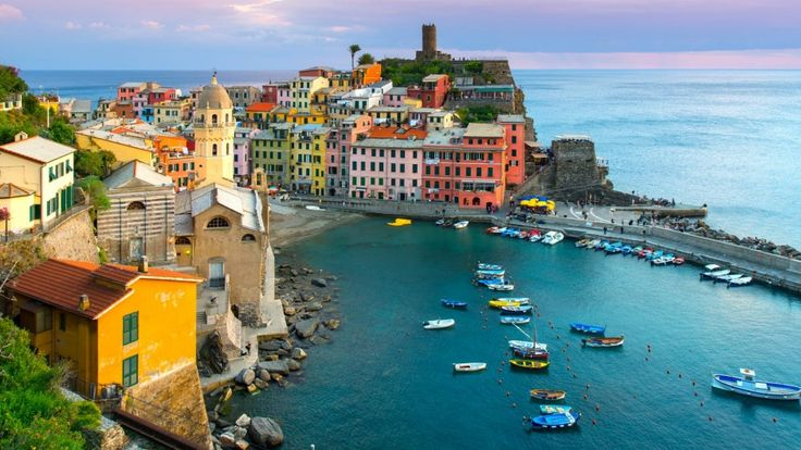 The 15 most colourful travel destinations on earth