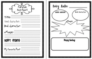 book report writing ideas
