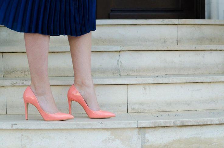 Pink stilettos / Made in Italia www.cristinafeather.com