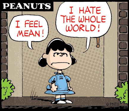 Monday morning with #Lucy.   #Peanuts