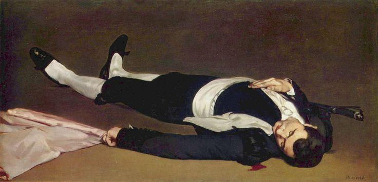 Edouard Manet-L'homme mort