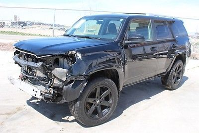 eBay: 2015 Toyota 4Runner SR5 4WD 2015 Toyota 4Runner SR5 4WD Damaged Repairable Perfect Project Priced to Sell!! #carparts #carrepair