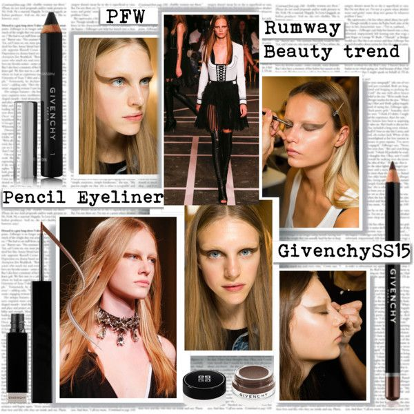 PFW SS15 Beauty Trend Pencil Eyeliner
