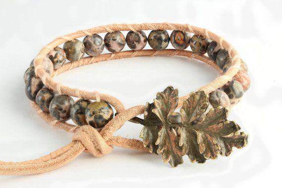 This very feminine Leopardskin Jasper (6mm beaded) bracelet will make any girl or woman look gorgeous. As a gemstone, the leopardskin jasper is a