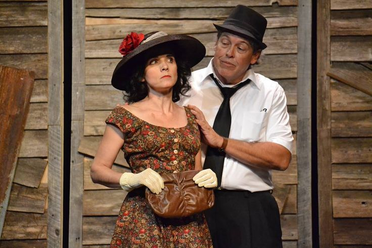 "Brandi Midkiff as Jessie Mae in ""The Trip to Bountiful."""