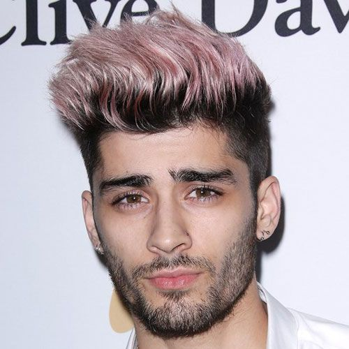 Zayn Malik New Hairstyle Pink Spiky Hair Cool Hairstyles For Men Zayn Malik Hairstyle Cool Hairstyles