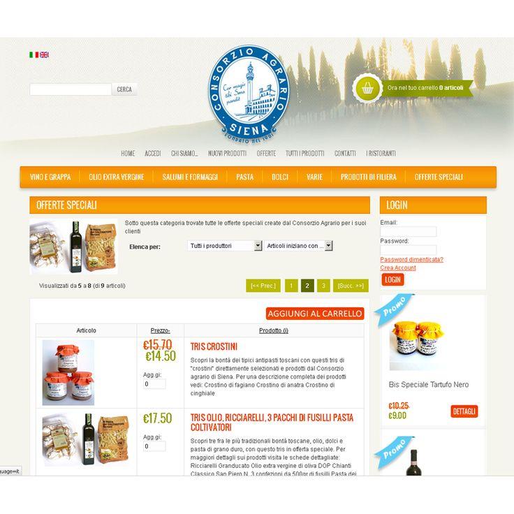 Offerte speciali sul sito del Consorzio Agrario di Siena. Compra on line!!!!! #foodandwine #consorzioagrariosiena #siena #toscana #prodottitipicitoscani