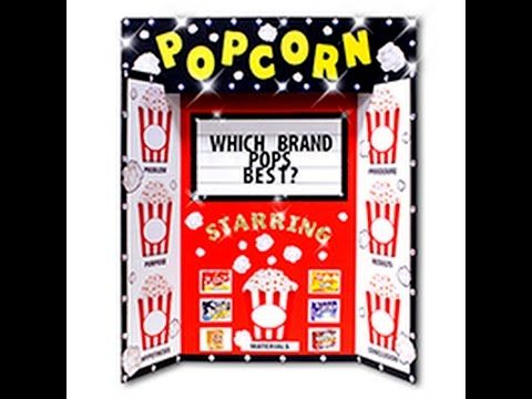 Which brand of popcorn pops the best research paper