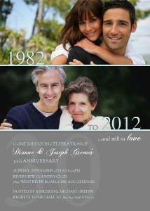 Still in Love Anniversary Invitations