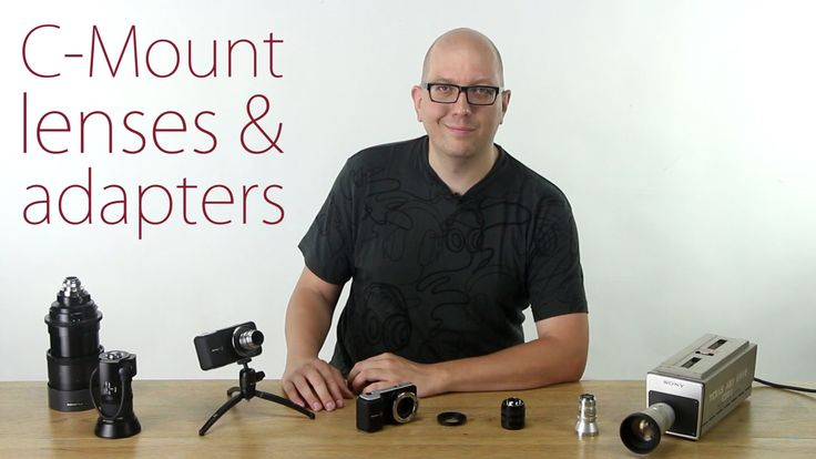 Mount C-Mount lenses on your Black Magic Pocket Cinema Camera - C-Mount lenses and adapters
