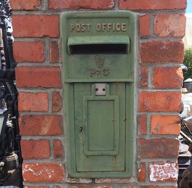 For sale in grangecastle Dublin Irish post box